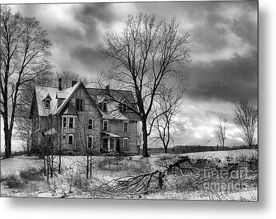 Long Hard Winter Metal Print