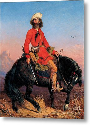 Long Jake - Rocky Mountain Man Metal Print