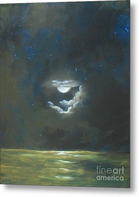 Metal Print featuring the painting Long Journey Home by Marlene Book