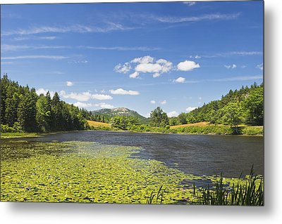 Long Pond - Acadia National Park - Mount Desert Island - Maine Metal Print by Keith Webber Jr