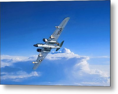 Long Wing Weather Recon Metal Print