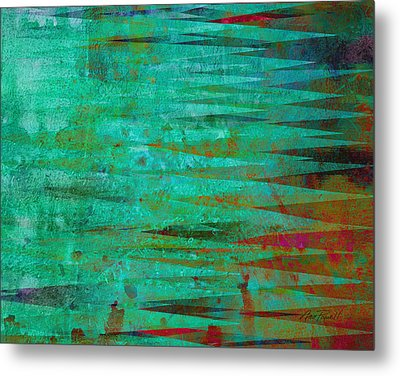 Longing - Abstract - Art Metal Print by Ann Powell