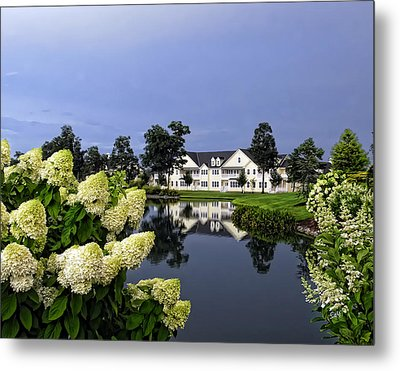 Metal Print featuring the photograph Longneck Delaware by Sami Martin