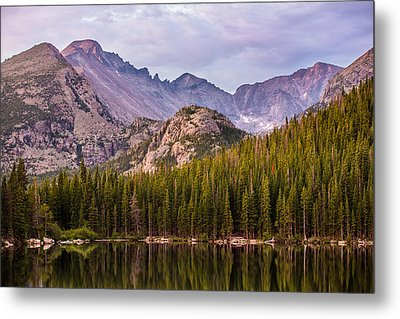 Purple Mountains' Majesty Metal Print by Adam Pender