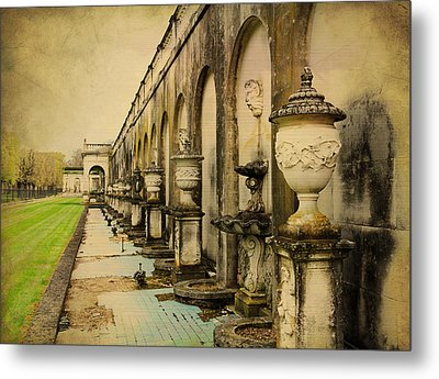Metal Print featuring the photograph Longwood Gardens Fountains by Trina  Ansel