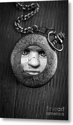 Look Behind You Metal Print by Edward Fielding