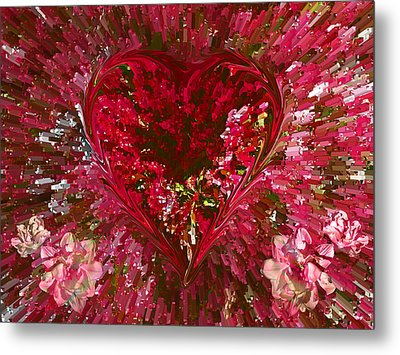 Look Deep Into My Heart Metal Print by David Pantuso