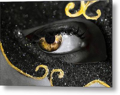 Look Into My Eyes... Metal Print by Sotiris Filippou