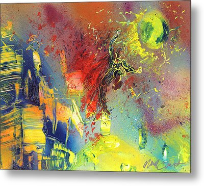 Look Look Up In The Sky Metal Print by Michael Cicirelli