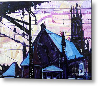 Looking At Saint Peters Metal Print by Michael Ciccotello