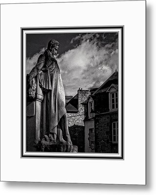 Looking At The Houses Metal Print