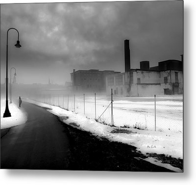 Looking Back At Time Metal Print by Bob Orsillo