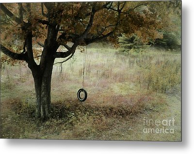 Metal Print featuring the photograph Looking Back To Simple Times by Brenda Bostic