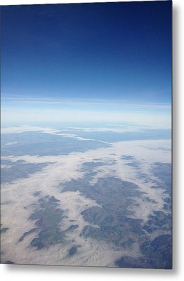 Looking Down On The Earth Metal Print by Daniel Precht
