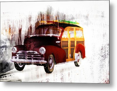 Looking For Surf City Metal Print by Bob Orsillo