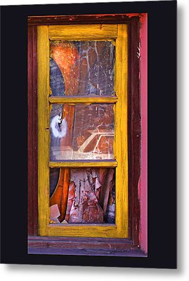 Looking Glass Metal Print