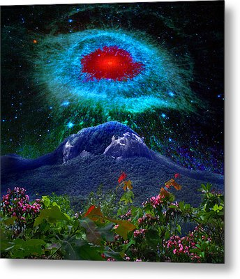 Looking Glass Rock Event 1 Metal Print