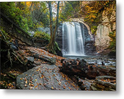 Metal Print featuring the photograph Looking Glass Waterfall by RC Pics