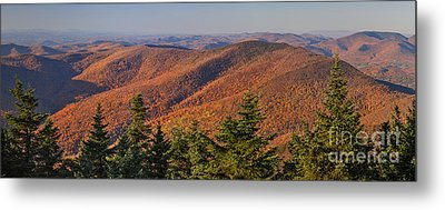 Looking North From Mount Equinox Metal Print by Charles Kozierok