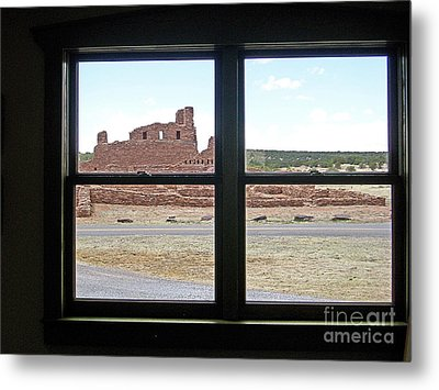 Looking Out At Abo Metal Print