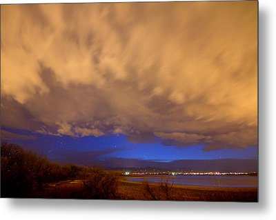 Looking Through The Storm Metal Print by James BO  Insogna
