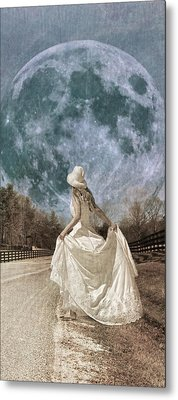 Looking To The Light Metal Print by Betsy Knapp