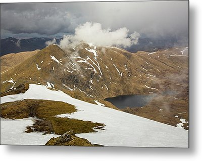 Looking Towards Meall Garbh Metal Print by Ashley Cooper