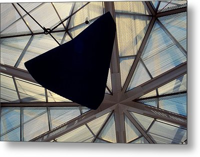 Looking Up At The East Wing Metal Print