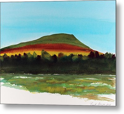 Metal Print featuring the painting Lookout Mountain Tn by Frank Bright