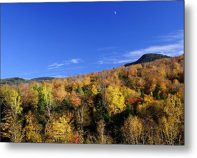 Loon Mountain Foliage Metal Print by Luke Moore