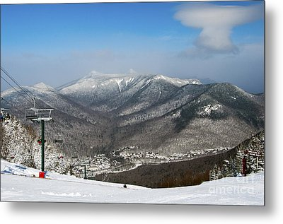 Loon Mountain Ski Resort White Mountains Lincoln Nh Metal Print