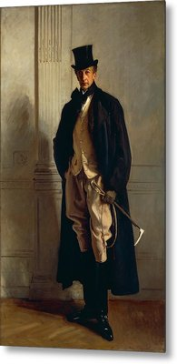 Lord Ribblesdale Metal Print by John Singer Sargent