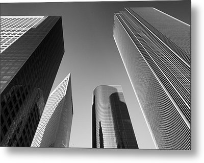 Los Angeles Architecture Metal Print by Celso Diniz