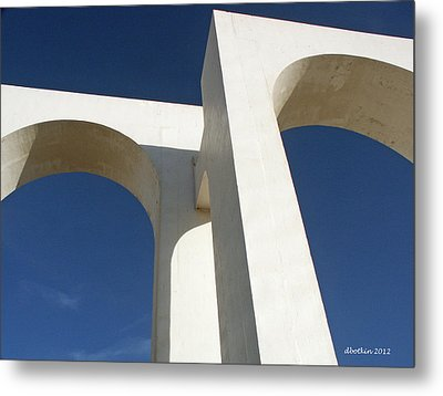 Metal Print featuring the photograph Los Arcos by Dick Botkin