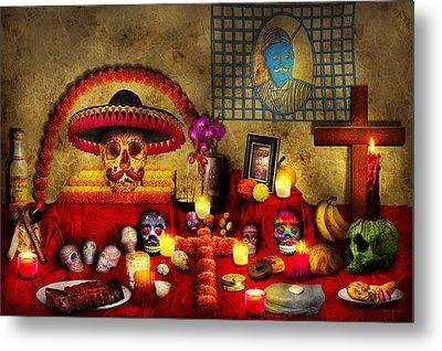 Los Dios Muertos - Rembering Loved Ones Metal Print by Mike Savad