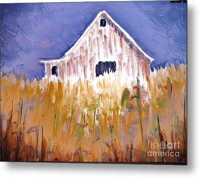 Lost And Found Edges Metal Print by Suzanne McKay