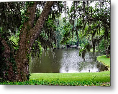 Metal Print featuring the photograph Lost Bridge by John Johnson