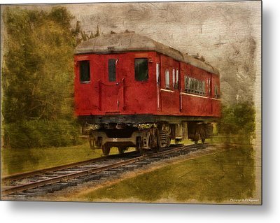 Lost Carriage 01 Metal Print by Kevin Chippindall