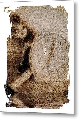 Lost Doll In Time Metal Print