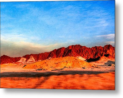 Lost Egyptian Landscape Metal Print by Mark E Tisdale