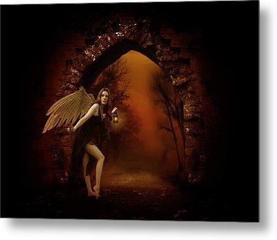 Lost Fairy Metal Print