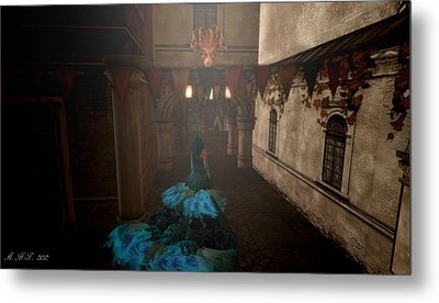 Lost In Carnivale Metal Print