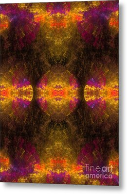 Metal Print featuring the digital art Lost In Colors by Hanza Turgul
