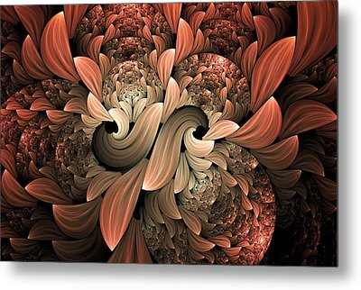 Lost In Dreams Abstract Metal Print by Georgiana Romanovna