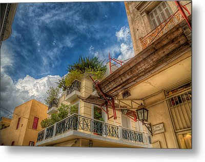 Metal Print featuring the photograph Lost In Plaka by Micah Goff