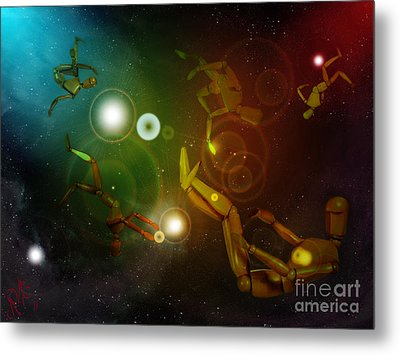 Lost In Space Metal Print by Rosa Cobos
