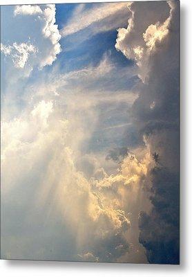 Lost In The Clouds Metal Print by Kim Bemis