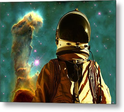 Lost In The Star Maker Metal Print by Matthew Lacey