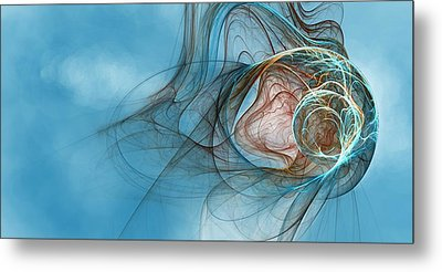 Lost In Thought Eternal Metal Print