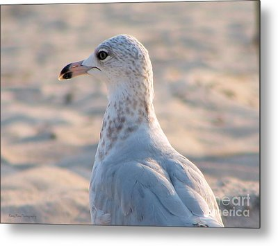 Lost In Thought Metal Print by Roxy Riou